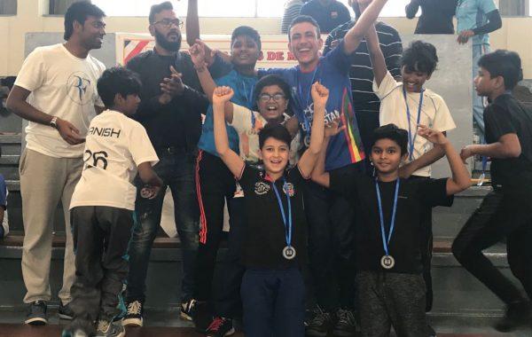 Grigny 15U, Vainqueur du tournoi indoor de Morangis
